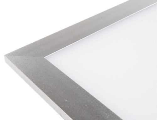 Seven structures characteristic of LED panel light