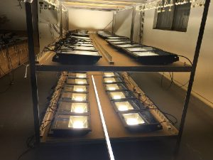 led lights factory aging lines